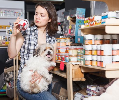 看狗糧包裝上的營養標籤