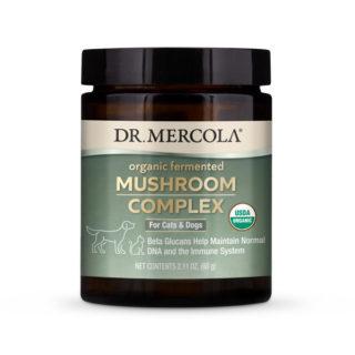 Organic Mushroom Complex for Cats & Dogs