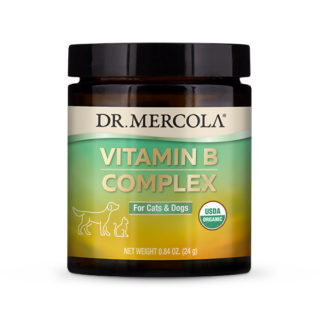 Dr Mercola Organic Vitamin B Complex for Cats & Dogs