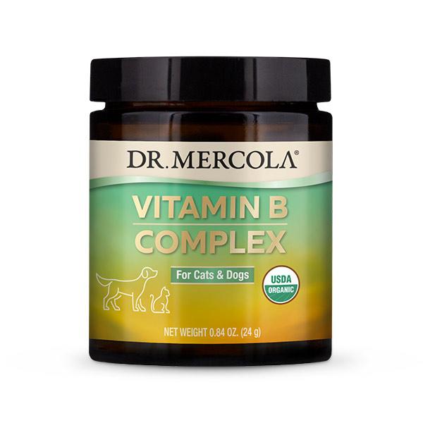 Dr Mercola Organic Vitamin B Complex for Cats & Dogs